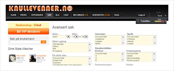 Vos sites sont maintenant disponibles en norvégien